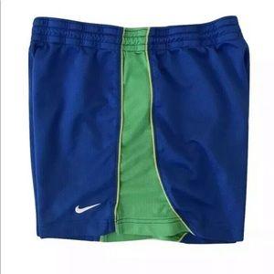 Nike Shorts Size XS Women's Blue Mesh Running